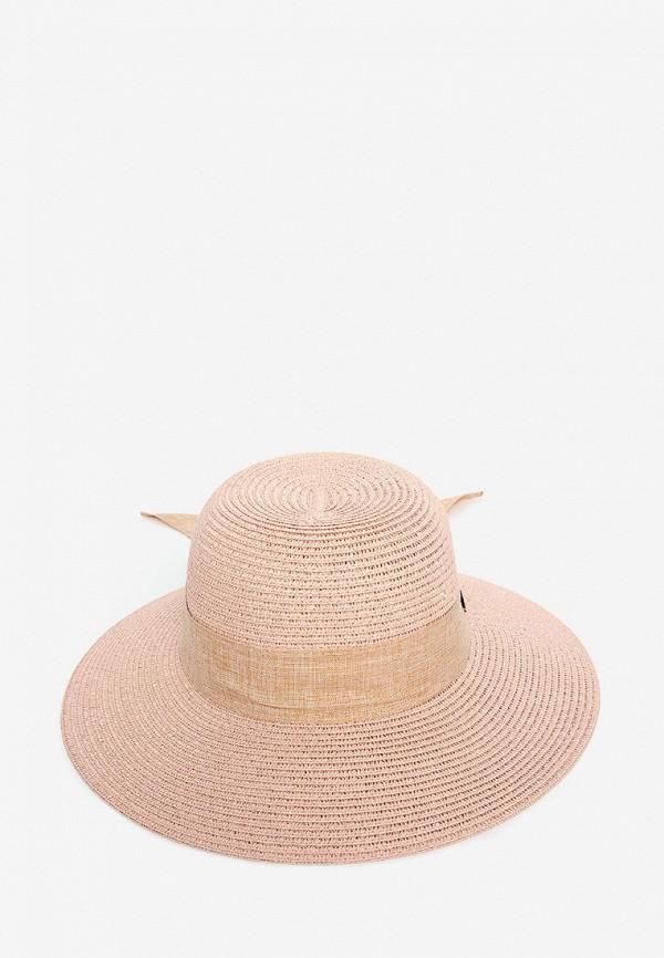 женская шляпа luckylook, розовая