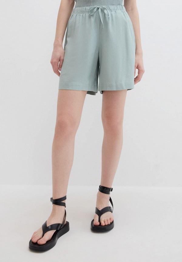 женские повседневные шорты zarina, зеленые