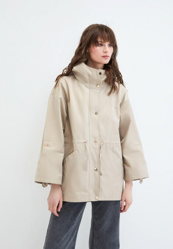 женская легкие куртка zarina, бежевая