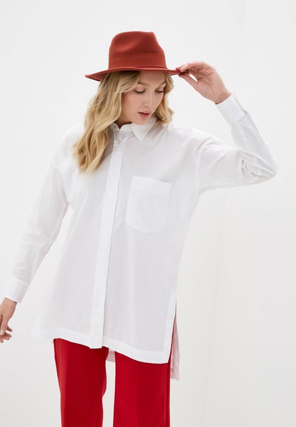 женская рубашка с длинным рукавом inwear, белая