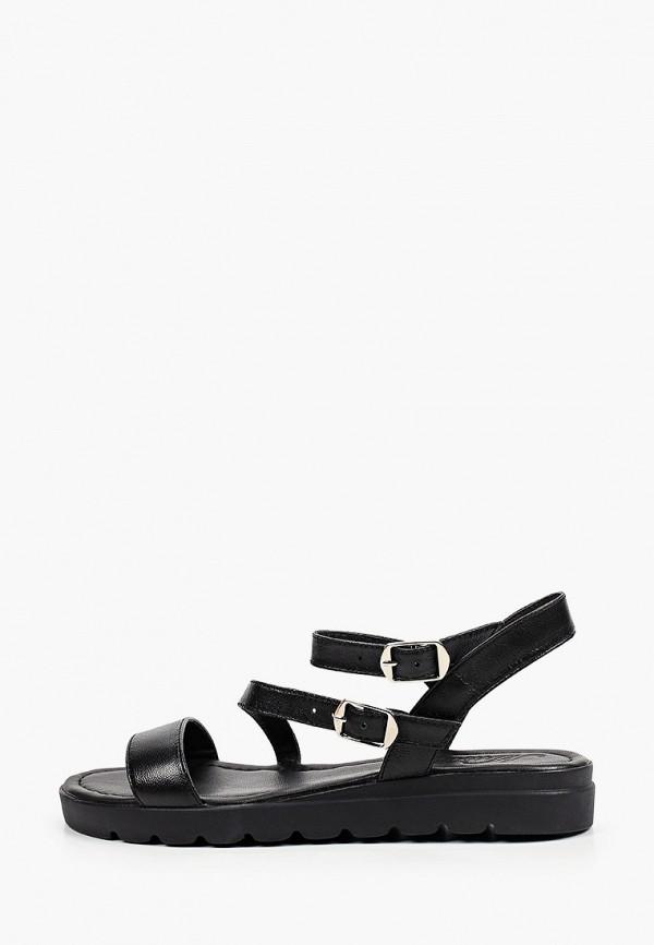 женские сандалии mastille, черные