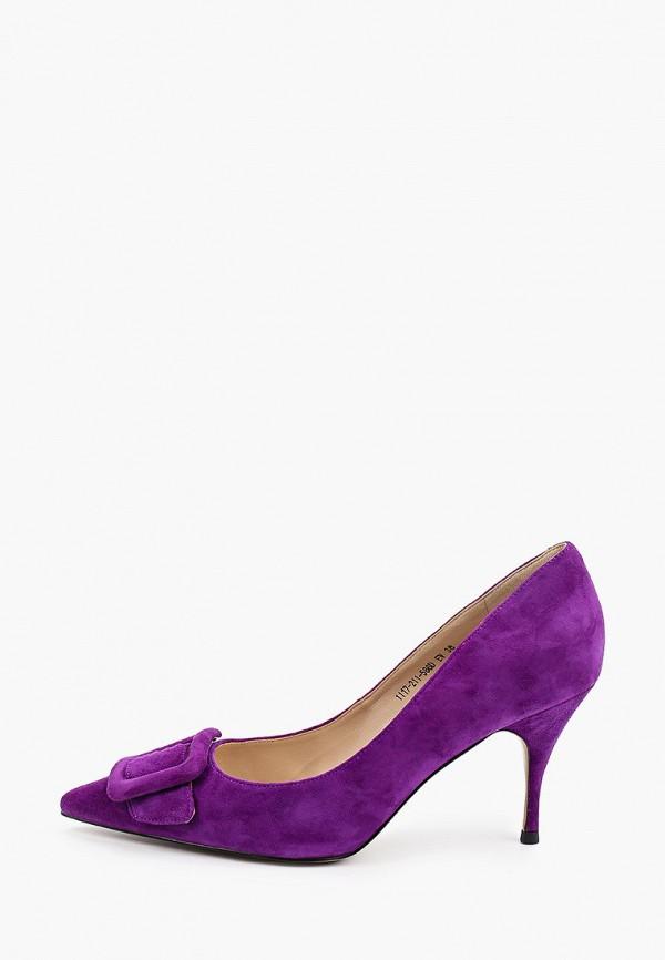 женские туфли-лодочки evigi, фиолетовые
