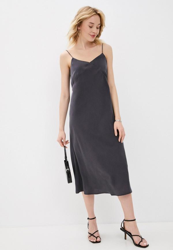 Платье Urban Tiger серого цвета
