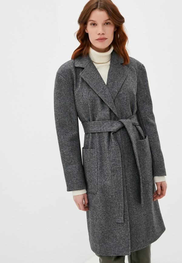 женское пальто bazzaro, серое