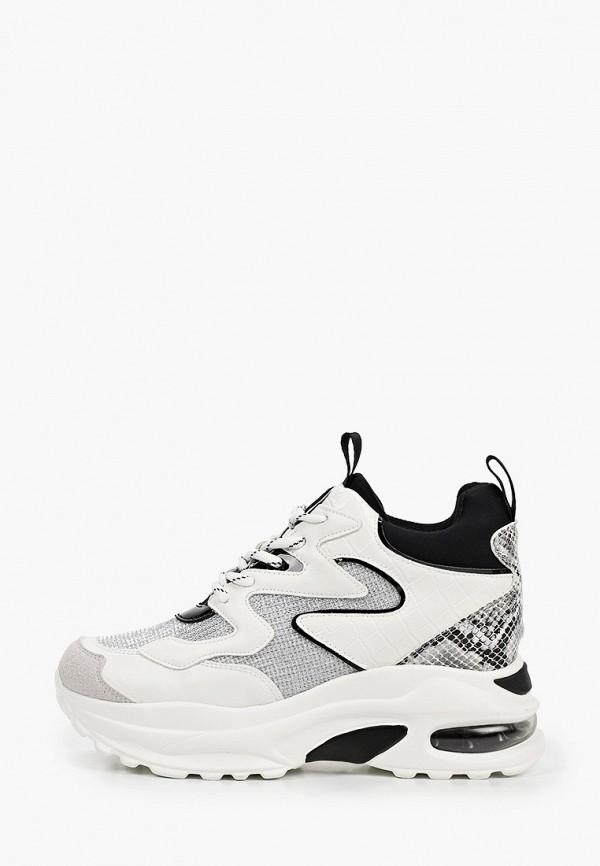 женские низкие кроссовки x-plode, белые