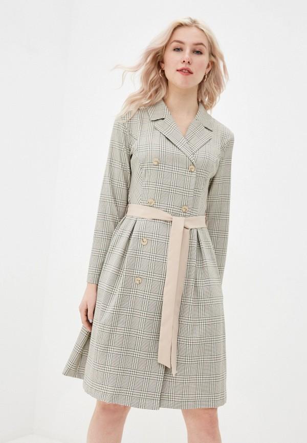 женское платье-пиджаки vittoria vicci, бежевое