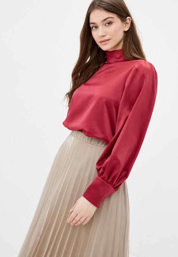 женская блузка с длинным рукавом vittoria vicci, бордовая