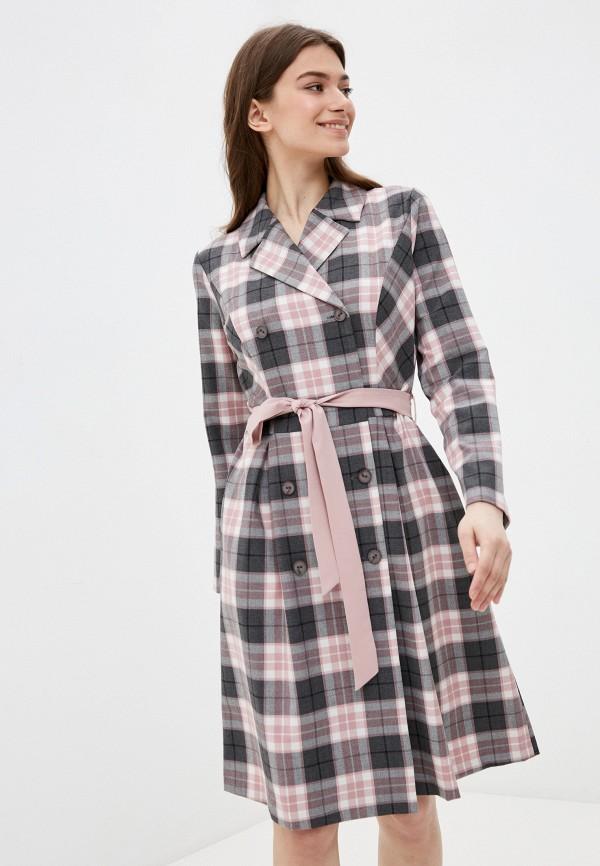 женское платье-пиджаки vittoria vicci, розовое