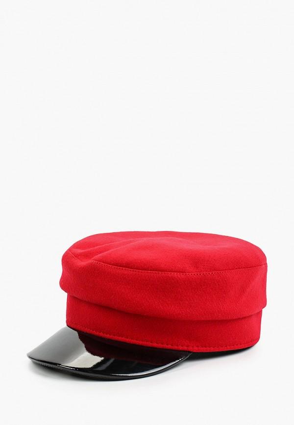женская кепка lf-label, красная