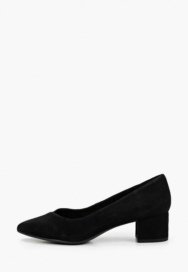 женские туфли с закрытым носом 5th avenue by deichmann, черные