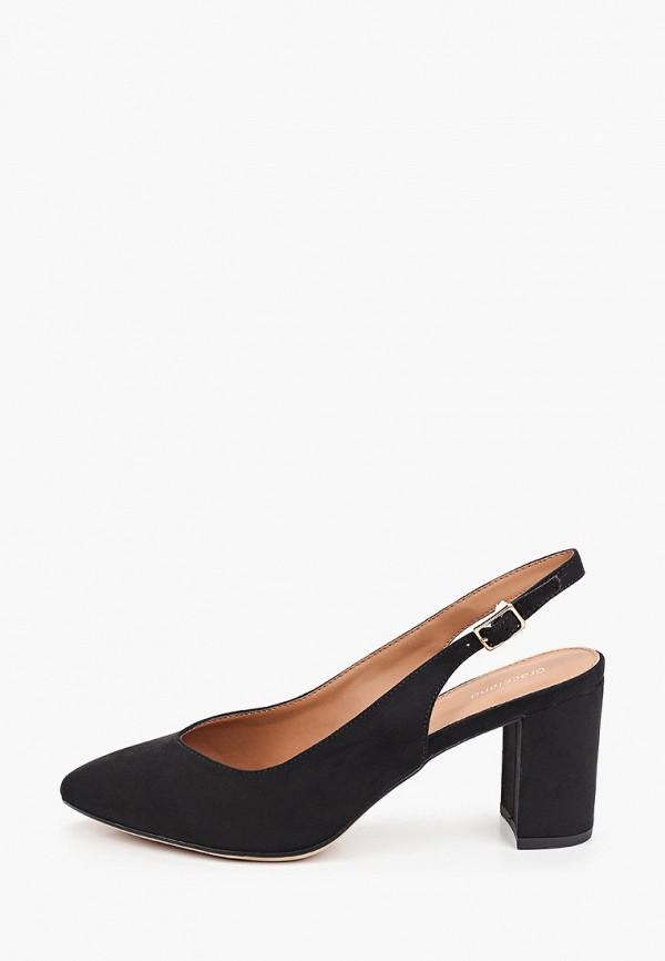 женские туфли graceland by deichmann, черные