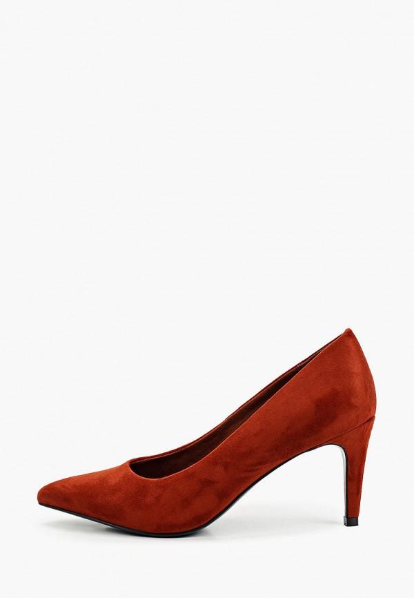 женские туфли-лодочки graceland by deichmann, коричневые