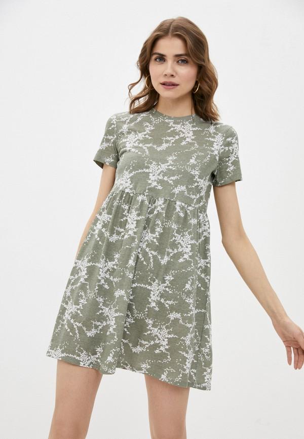женское платье-футболки befree, зеленое