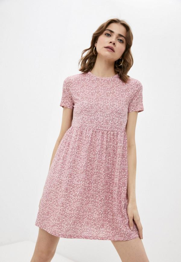 женское платье-футболки befree, розовое