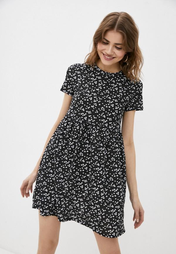 женское платье-футболки befree, черное