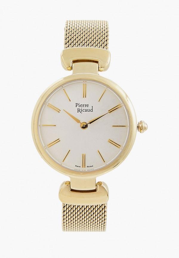 женские часы pierre ricaud, золотые