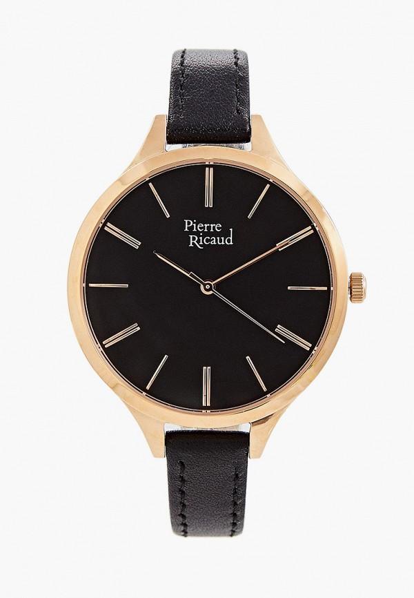 женские часы pierre ricaud, черные