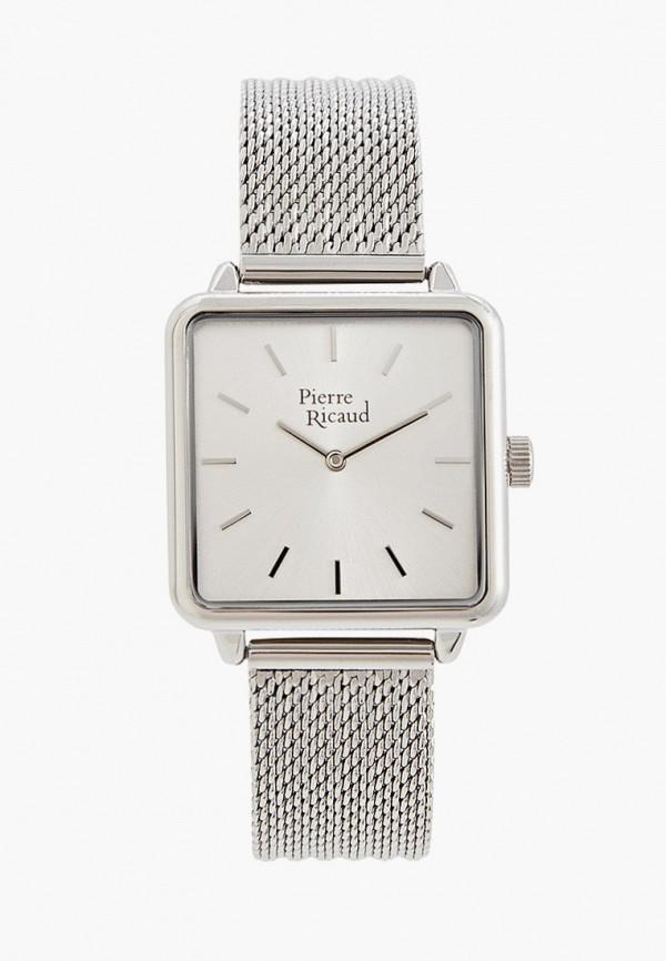 женские часы pierre ricaud, серебряные