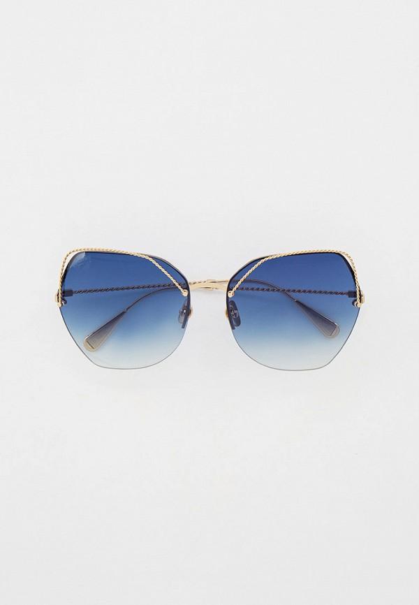 женские солнцезащитные очки baldinini, золотые