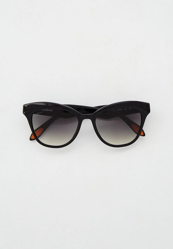 женские квадратные солнцезащитные очки baldinini, черные