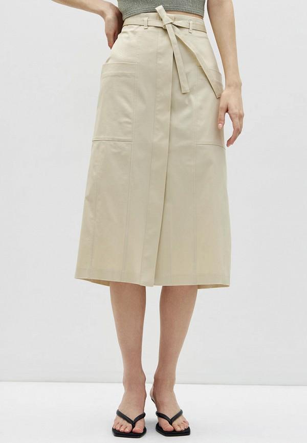 женская юбка-трапеции lime, хаки