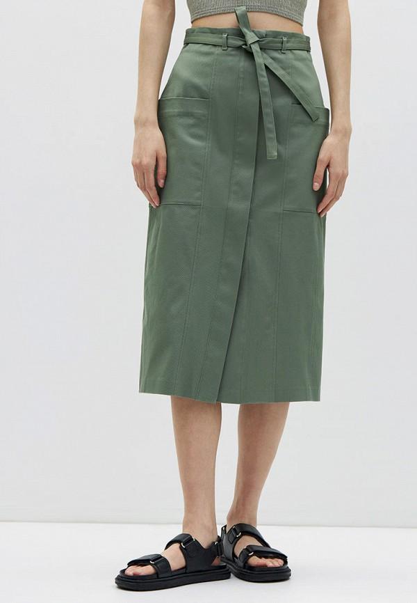 женская прямые юбка lime, хаки