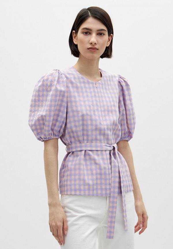 женская блузка с коротким рукавом lime, разноцветная