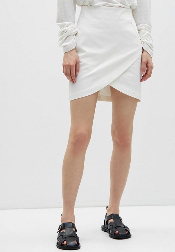 женская прямые юбка lime, белая