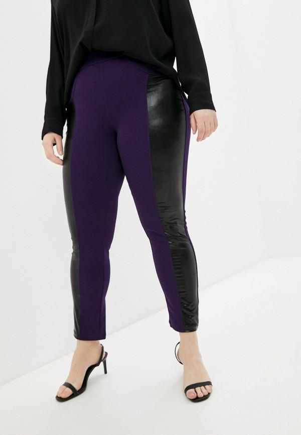 женские зауженные брюки olsi, фиолетовые