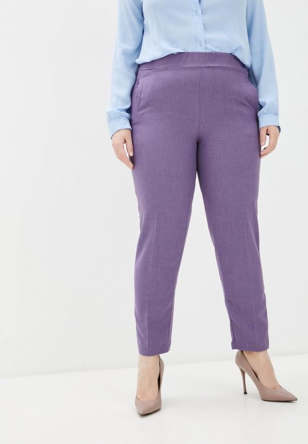 женские повседневные брюки olsi, фиолетовые