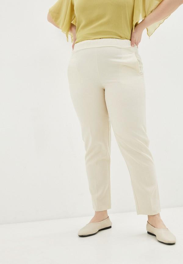 женские брюки джоггеры olsi, бежевые