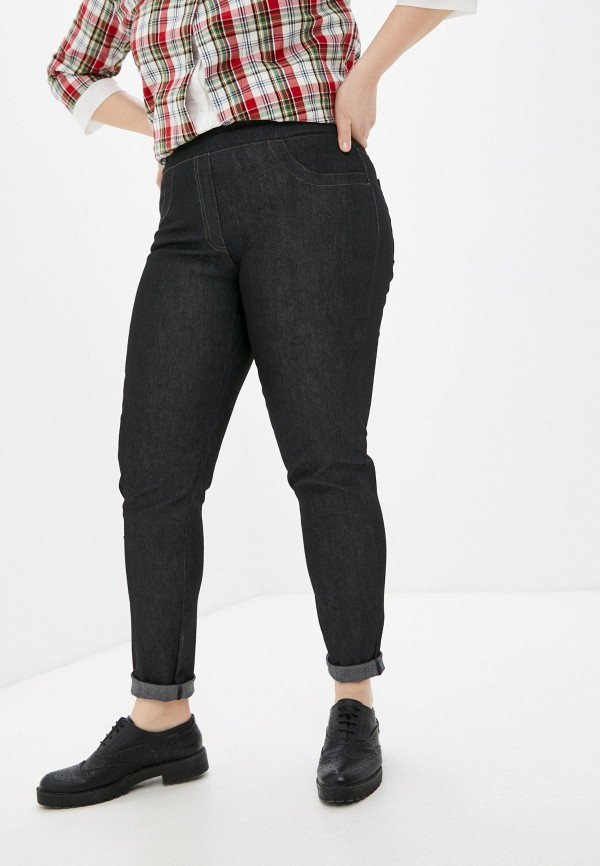 женские джинсы скинни olsi, черные