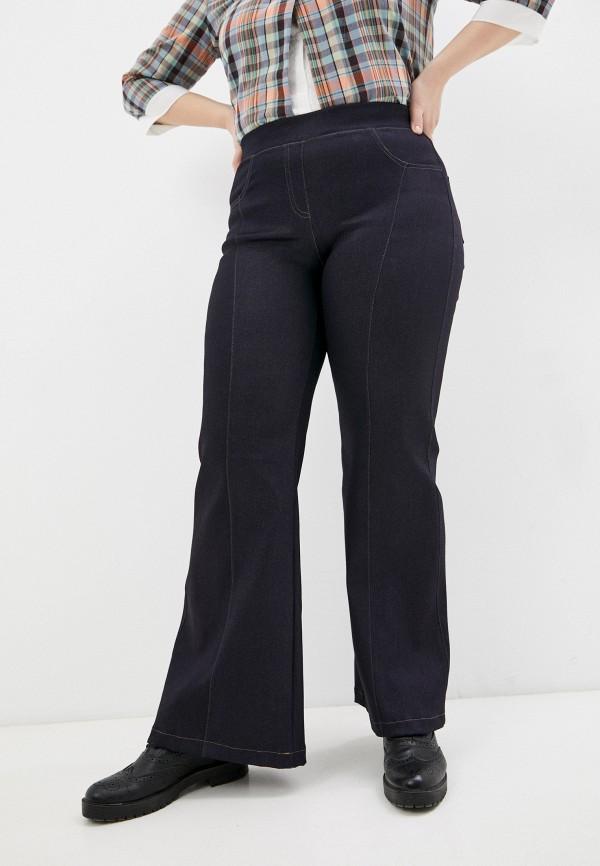 женские джинсы клеш olsi, синие