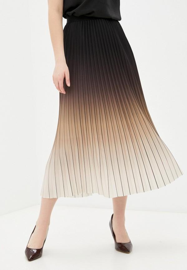 женская плиссированные юбка ril's, бежевая