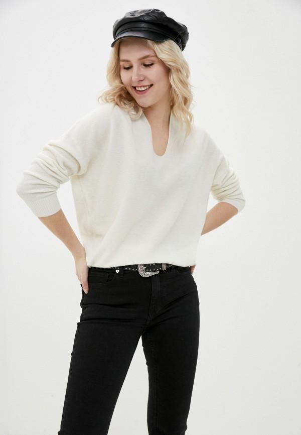 женский пуловер ril's, белый