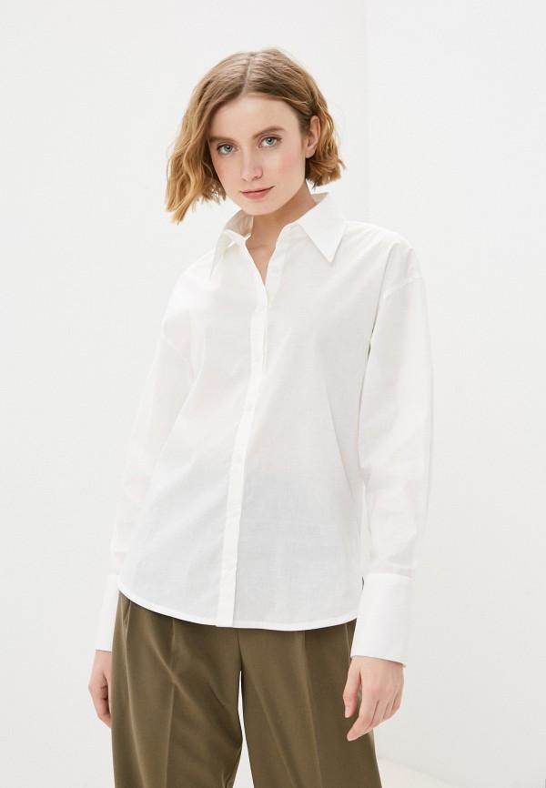 женская рубашка с длинным рукавом sava mari, белая