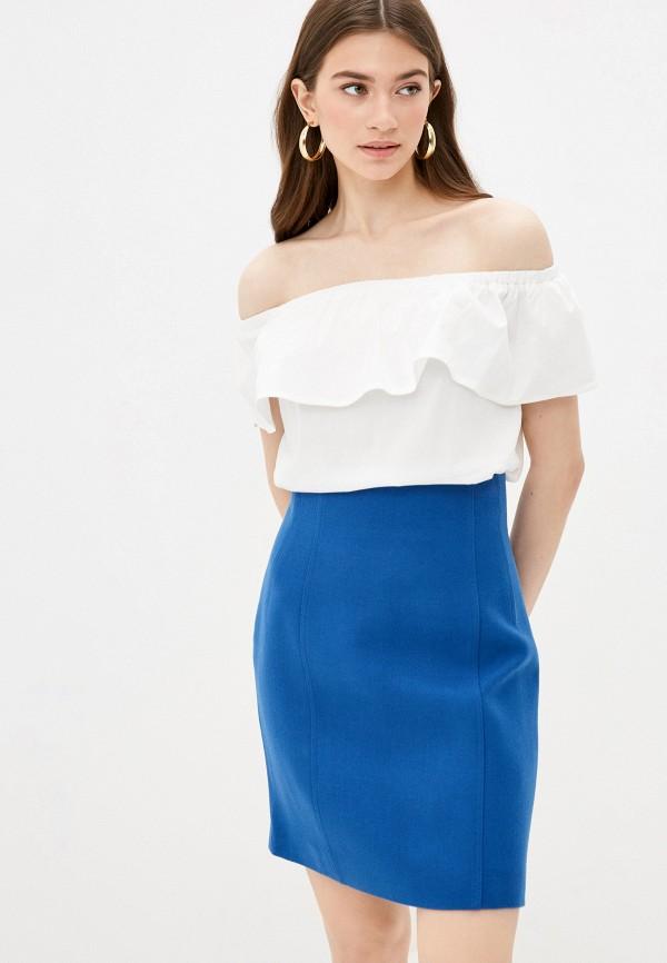 женская блузка с открытыми плечами vittoria vicci, белая