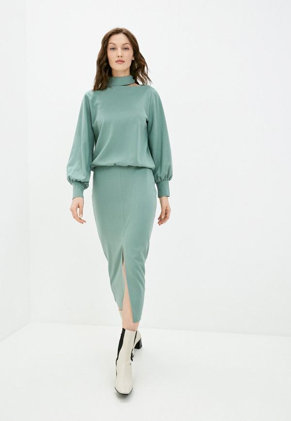 женский костюм vittoria vicci, зеленый