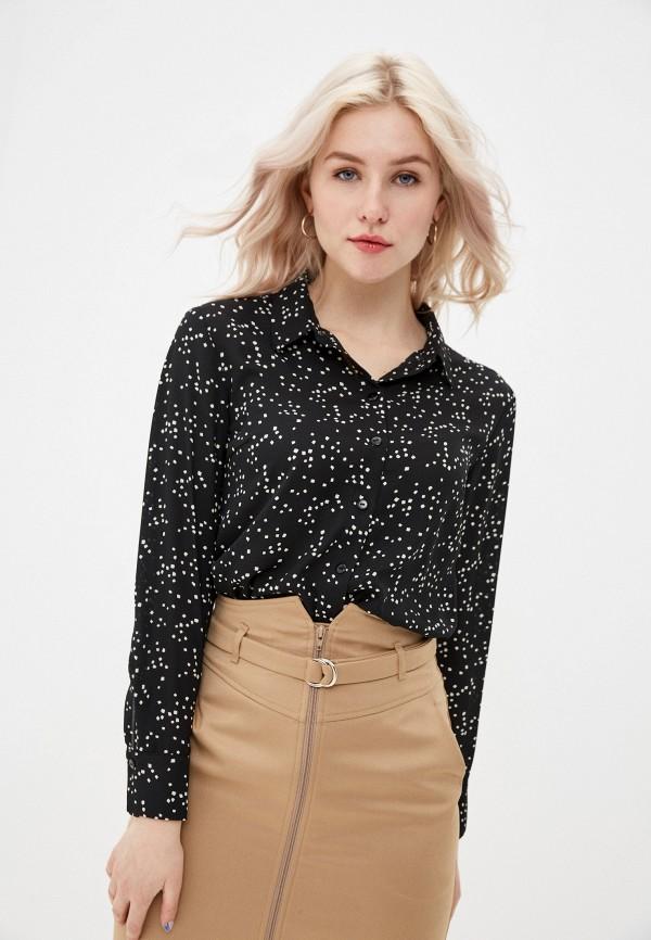 женская блузка с длинным рукавом vittoria vicci, черная
