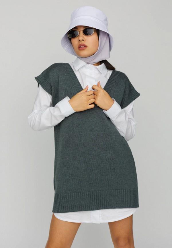 женский жилет karree, серый