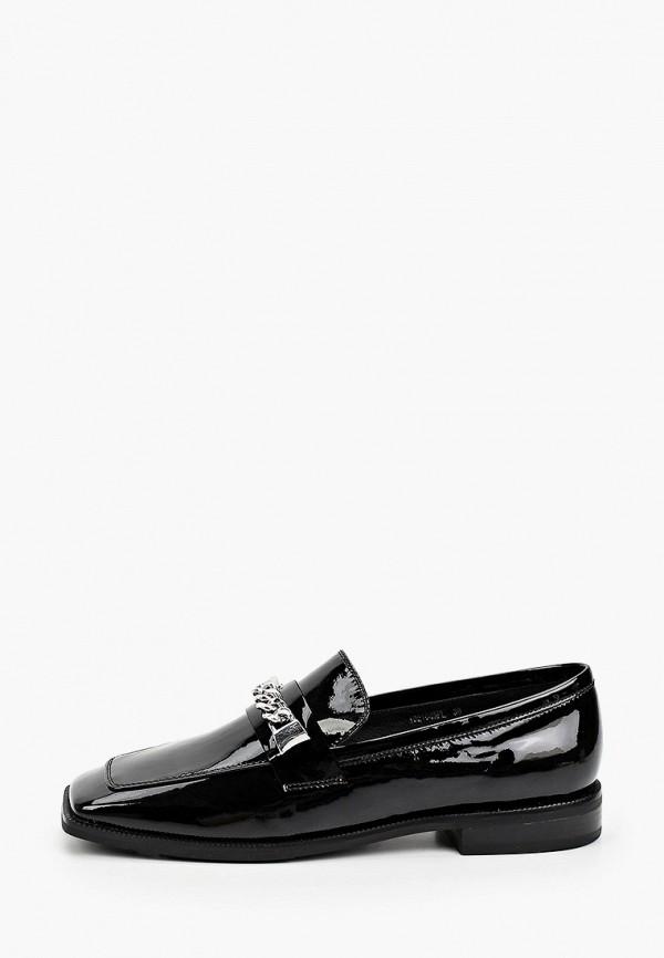 женские лоферы tuffoni, черные