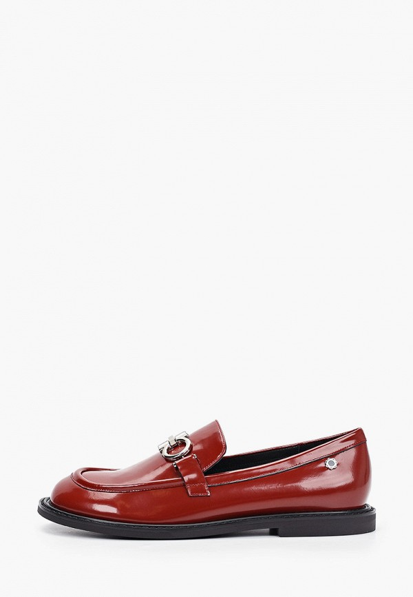 женские лоферы tuffoni, красные