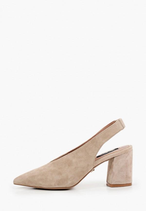 женские туфли aidini, бежевые