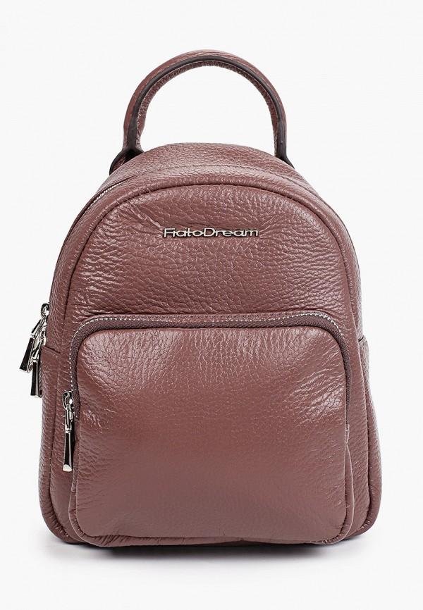 женский рюкзак fiato, коричневый