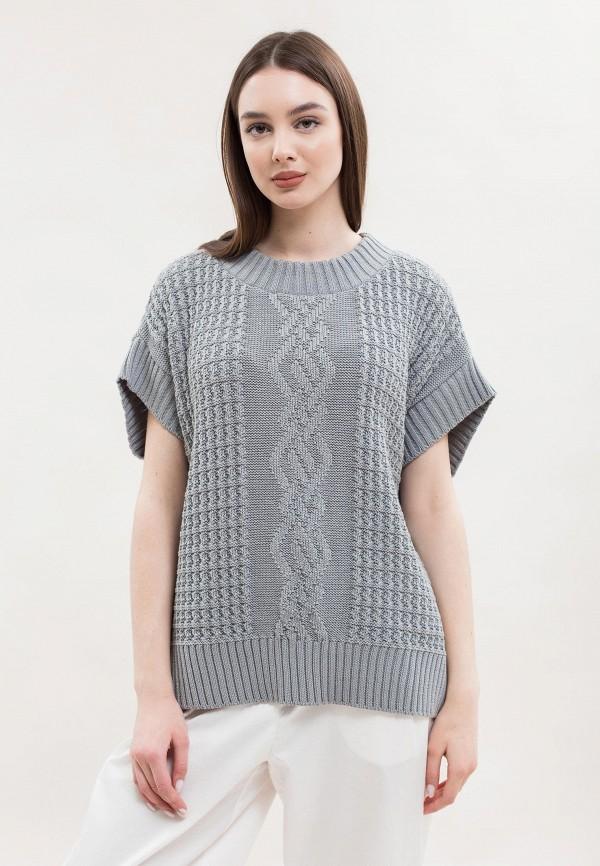 женский жилет maxa, серый
