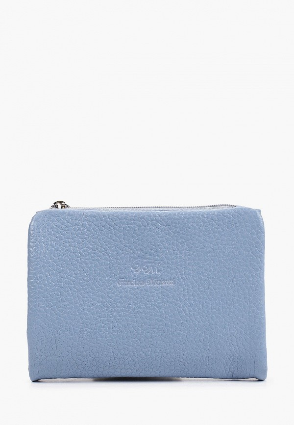 женский кошелёк franchesco mariscotti, голубой
