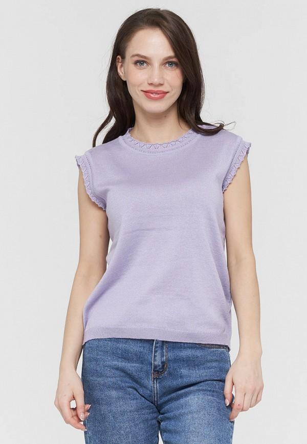 женский жилет vay, фиолетовый