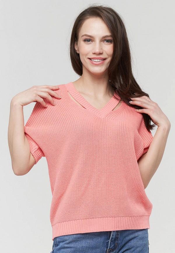 женский пуловер vay, розовый