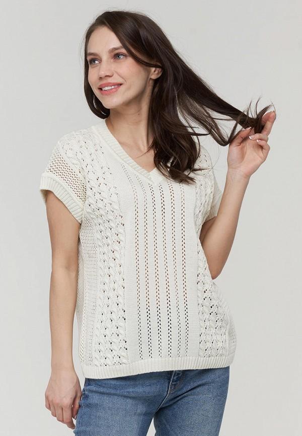 женский пуловер vay, белый