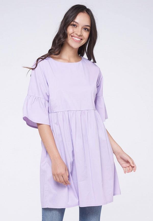 женская туника vay, фиолетовая